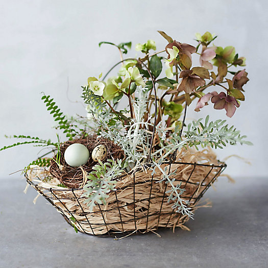 Wire Flower Trug