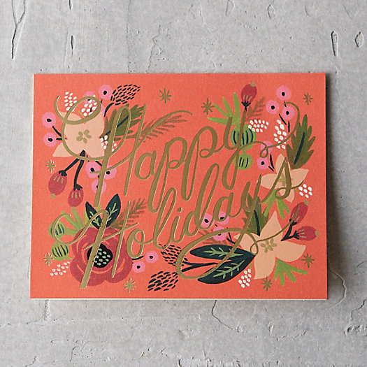 Christmas in Bloom Card