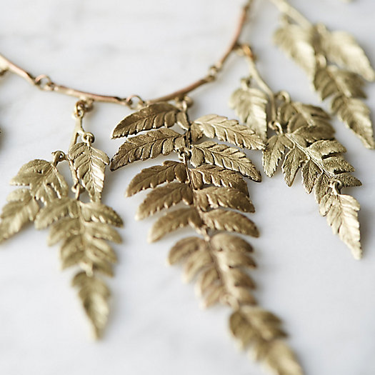 Fern Frond Collar Necklace