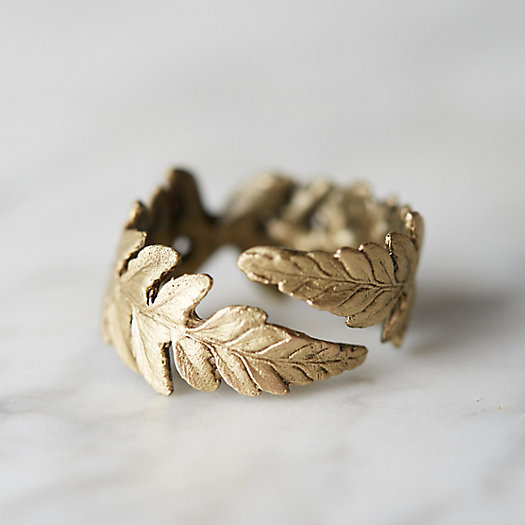 Fern Frond Ring
