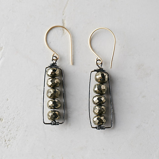 Stone Row Earrings