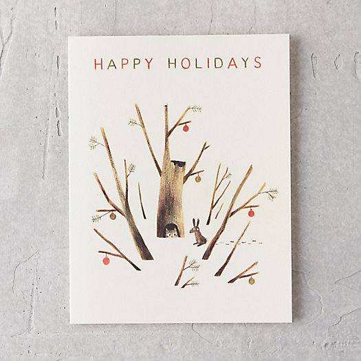 Holiday Forest Card