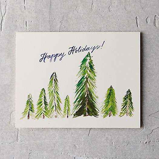 Tall Trees Card
