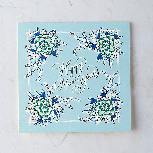 New Year Bandana Card