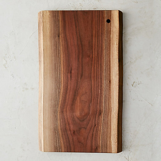 Live Edge Walnut Serving Board