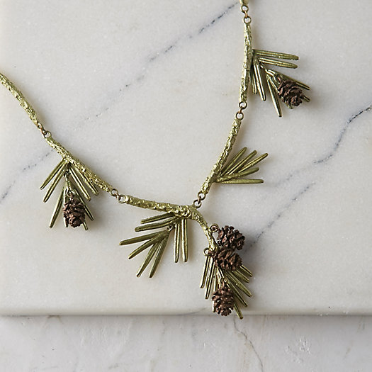 Scattered Sequoia Necklace