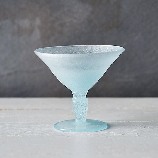 Bubble Martini Glass