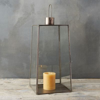 Tapered Rectangle Lantern, Large