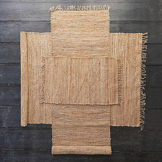 Leather Weave Cotton Rug