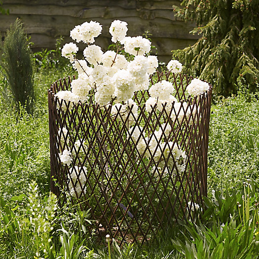 Woven Willow Expandable Circle Trellis