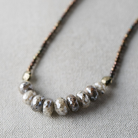 Silverite Row Necklace