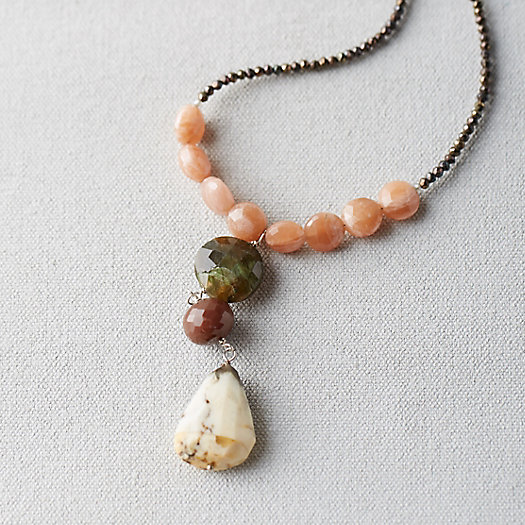 Opal & Sunstone Necklace