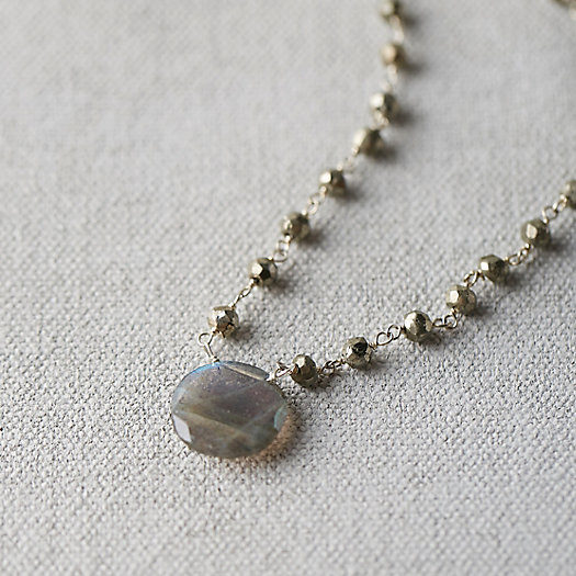 Gemstone Waterfall Necklace