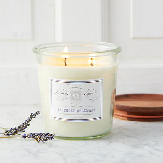Linnea's Lights Weck Candle, Lavender Rosemary