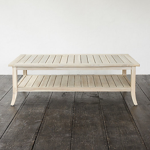 Protected Teak Garden Coffee Table