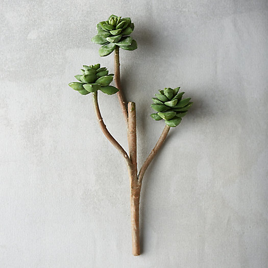Faux Sedum Branch