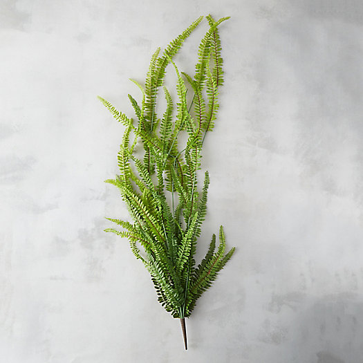 Faux Woodland Fern Spray