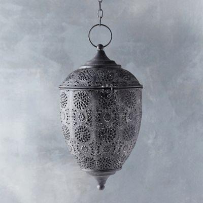 Iron Acorn Lantern, Large