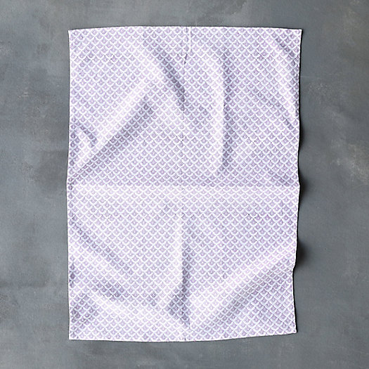 Scalloped Layers Tea Towel