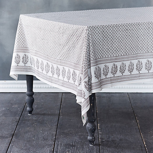 Bouquet Border Tablecloth