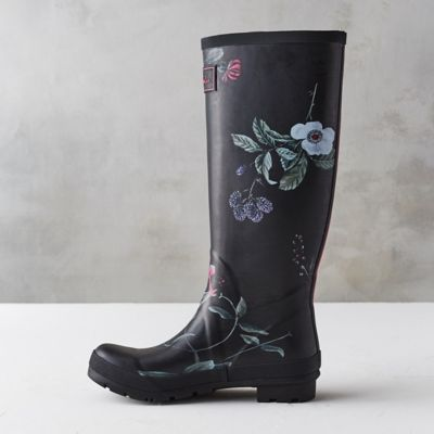 tall bright bloom garden boots tall