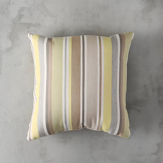 Lemongrass Stripe Outdoor Pillow