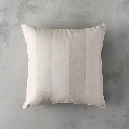 Sand Stripe Outdoor Pillow