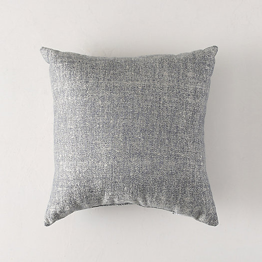 Solid Slate Outdoor Pillow