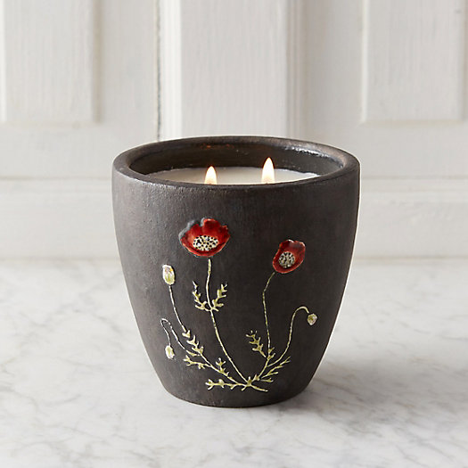 Linnea's Lights Poppy Candle
