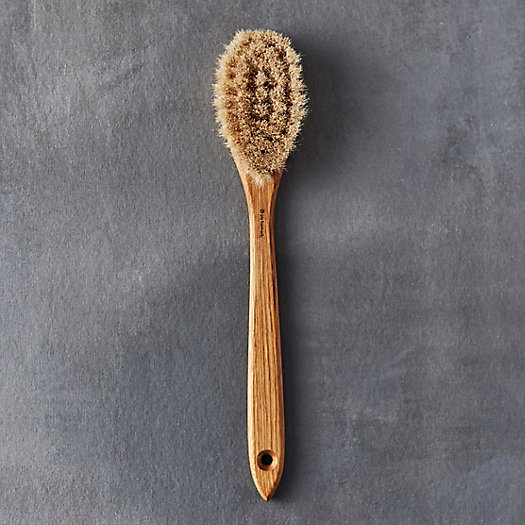 Oak Long Handle Bath Brush