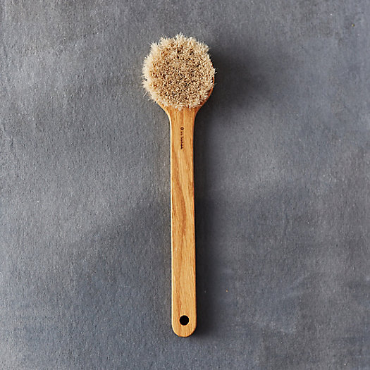 Oak Round Bath Brush