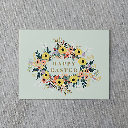 Easter Wreath Card