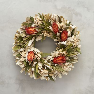 Sunset Protea Wreath
