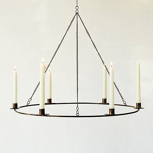 Iron Candle Chandelier