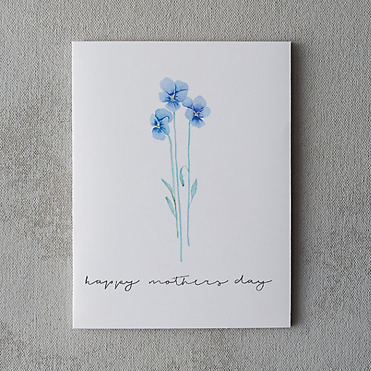 Viola Mother's Day Card