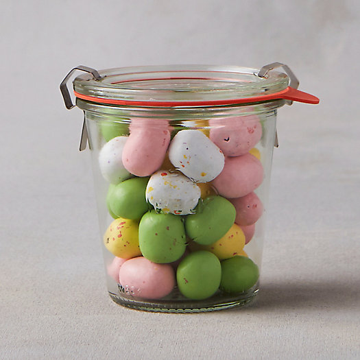 Chocolate Easter Eggs Weck Jar