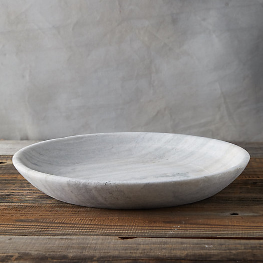Carved Limestone Bowl