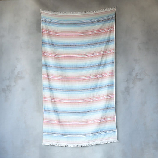 Double-Sided Rainbow Beach Towel