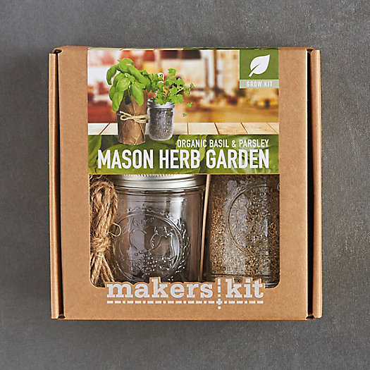 Mason Jar Herb Duo Grow Kit