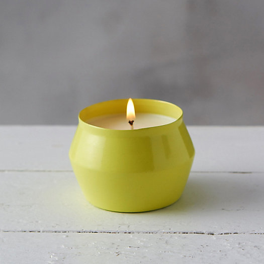 Mini Citronella Candle, Verbena Pear