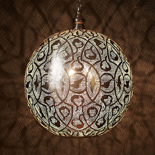 Zenza Filigree Sphere Light, Large