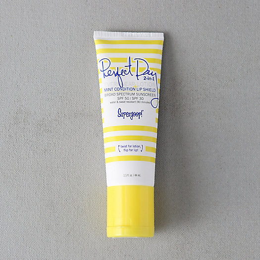 Supergoop 2-in-1 Sunscreen + Lip Shield
