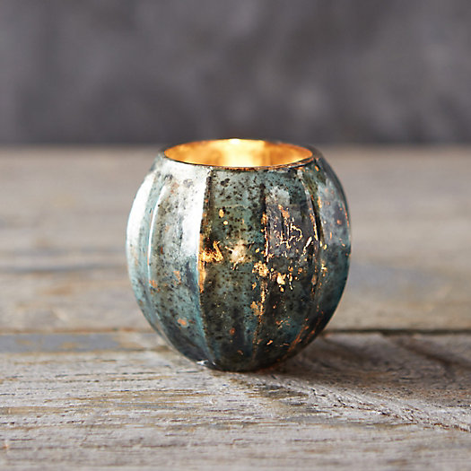 Mercury Orb Votive Holder