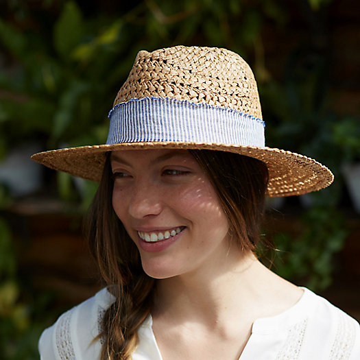 Striped Band Rancher Hat