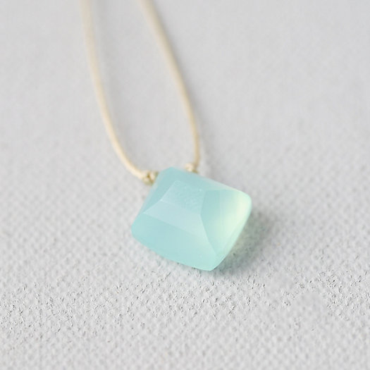 Chalcedony Nugget Necklace
