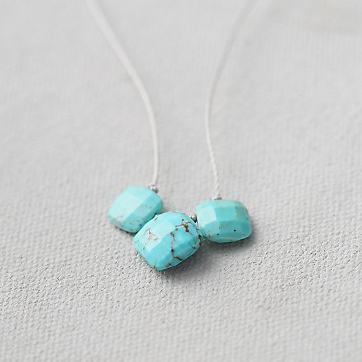 Arizona Turquoise Trio Necklace