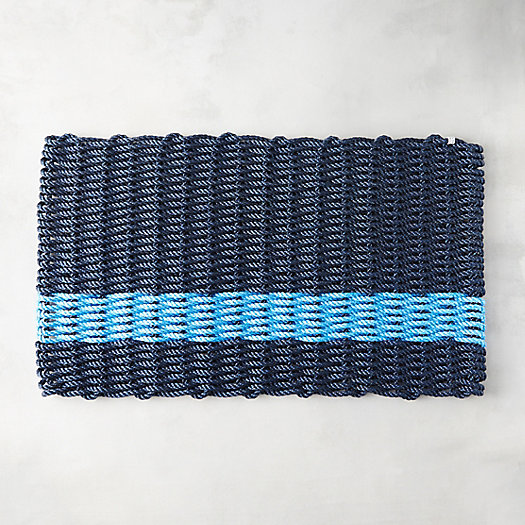 Striped Marine Rope Doormat