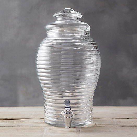Glass Hive Drink Dispenser