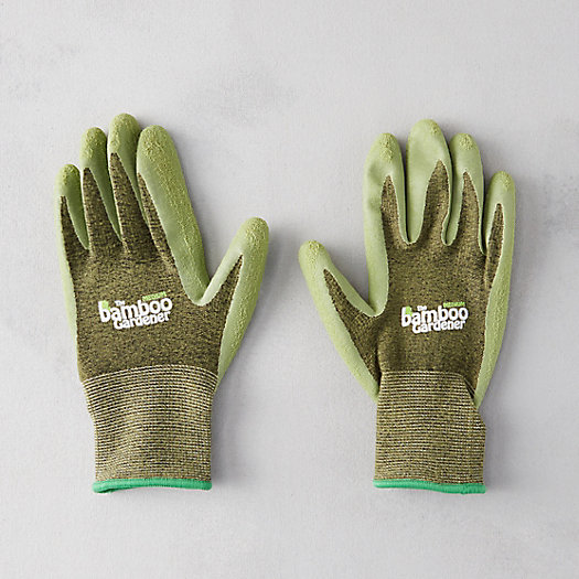 Rubber Palm Bamboo Gloves