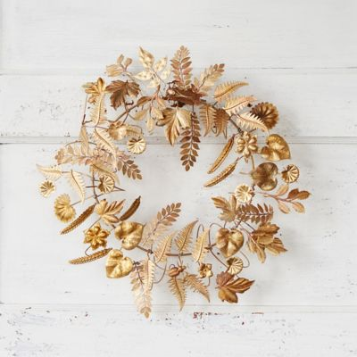 Fern & Beetle Wreath